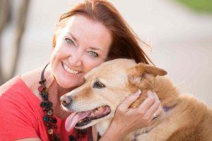 Pet sitter Robin Perdue